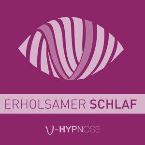 V-Hypnose Hörbuch Erholsamer Schlaf Cover